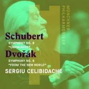 """Schubert: Symphony No. 8, """"Unfinished"""" - Dvorák: Symphony No. 9, """"From the New World"""""""