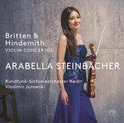 ブリテン:ヴァイオリン協奏曲、ヒンデミット:ヴァイオリン協奏曲(DSD 2.8MHz/1bit)