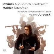 リヒャルト・シュトラウス:交響詩「ツァラトゥストラはかく語りき」、マーラー:交響詩「葬礼」、交響的前奏曲(24bit/96kHz)