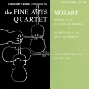Mozart: Horn Quintet, K. 407 & Oboe Quartet, K. 370 (Remastered from the Original Concert-Disc Master Tapes)