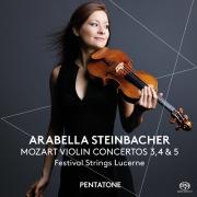 モーツァルト:ヴァイオリン協奏曲第3、4&5番(DSD 2.8MHz/1bit)