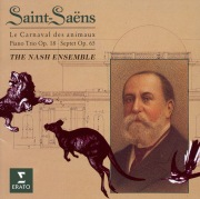 Saint-Saëns; Carnival of the Animals, Septet & Piano Trio