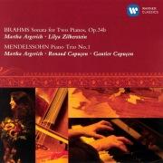 Brahms: Sonata for Two Pianos, Op.34b & Mendelssohn: Piano Trio No.1