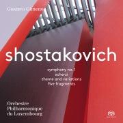ショスタコーヴィチ交響曲第1番 ヘ短調 作品10(DSD 2.8MHz/1bit)