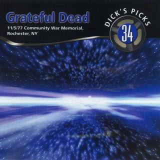 Dick's Picks Vol. 34: 11/5/77 (Community War Memorial, Rochester, NY)