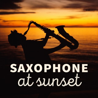 Saxophone at Sunset