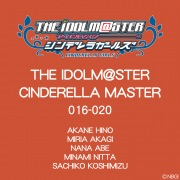 THE IDOLM@STER CINDERELLA MASTER 016〜020