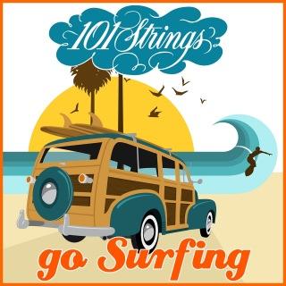 101 Strings Go Surfin'