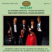 Mozart Piano Quartets K. 478 & K. 493