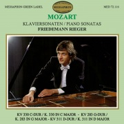 Mozart: Piano Sonatas K. 330, K. 283 & K. 311
