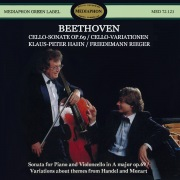 Beethoven: Cello Sonata, Op. 69 & Variations for Piano and Cello