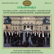 Stravinsky: Pulcinella Suite, Apollon Musagète, Concerto in D