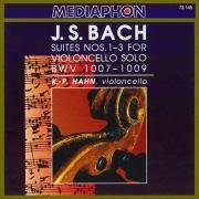 Bach: Suites  for Violoncello Nos. 1-3, BWV 1007-1009