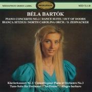 Béla Bartok: Piano Concerto No. 3, Dance Suite & Out of Doors