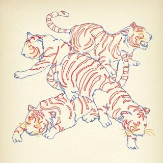ネオンと虎