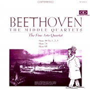 Beethoven: The Middle Quartets (Remastered from the Original Concert-Disc Master Tapes)