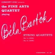 Bartók: String Quartets No. 5 & No. 6 (Remastered from the Original Concert-Disc Master Tapes)