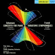 Schumann: Piano Concerto & Franck: Variations Symphoniques (Transferred from the Original Everest Records Master Tapes)