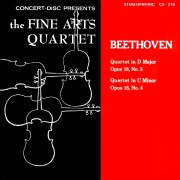 Beethoven: String Quartets, Op. 18, Nos. 3 & 4 (Digitally Remastered from the Original Concert-Disc Master Tapes)