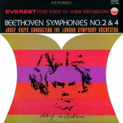 Beethoven: Symphonies No. 2 & 4 (Transferred from the Original Everest Records Master Tapes)