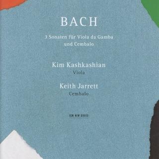 Bach: Drei Sonaten für Viola da Gamba und Cembalo