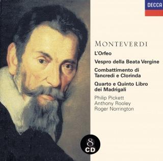 Monteverdi: 1610 Vespers/Madrigals/Orfeo