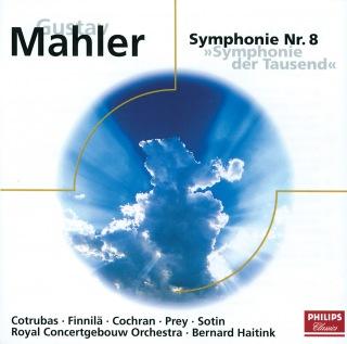"""Mahler: Sinfonie Nr. 8 Es Dur """"Sinfonie der Tausend"""""""
