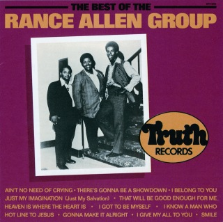The Best Of The Rance Allen Group
