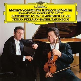 Mozart: Sonatas For Piano And Violin, K.376 & K.377; Variations K.359 & K.360