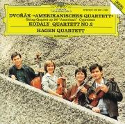 "Dvorák: String Quartet No.12 ""American""; Cypresses / Kodály: String Quartet No.2"