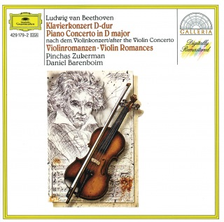 Beethoven: Piano Concerto after the Violin Concerto; Violin Romances