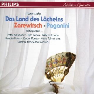 Das Land des Lächelns - Der Zarewitsch - Paganini