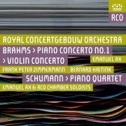 Brahms: Violin Concerto & Piano Concerto No. 2 - Schumann: Piano Quartet (Live)