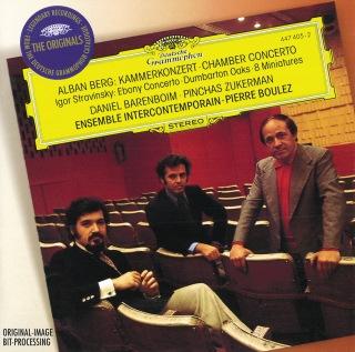 Berg: Chamber Concerto / Stravinsky: Ebony Concerto; Dumbarton Oaks; 8 Miniatures