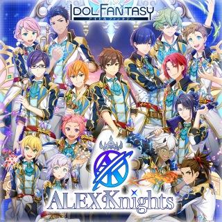 「アイドルファンタジー」Songs「ALEX Knights」 REAL×FANTASY / 視線=プリズム / Across the Road〜僕ら繋ぐ道〜