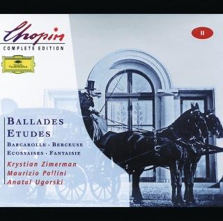 Chopin: Ballades; Etudes; Barcarolle; Berceuse