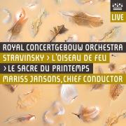 Stravinsky: L'Oiseau de feu & Le Sacre du printemps (Live)