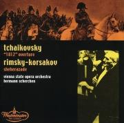 """Tchaikovsky: """"1812"""" Overture / Rimsky-Korsakov: Sheherazade"""