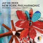 Stravinsky Le Sacre du printemps; Debussy La Mer