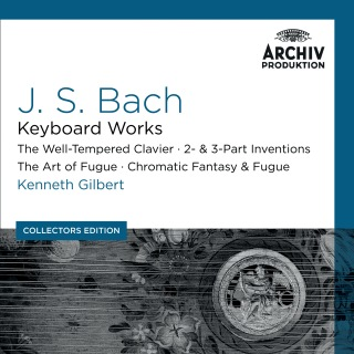 Bach, J.S.: Keyboard Works; The Well-Tempered Clavier; 2- & 3- Part Inventions; The Art Of Fugue; Chromatic Fantasy & Fugue (Collectors Edition)
