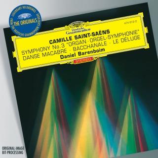 """Saint-Saens: Symphony No.3 """"Organ""""; Bacchanale from """"Samson et Dalila""""; Prélude from """"Le Déluge""""; Danse macabre (24 bit / 96 kHz)"""