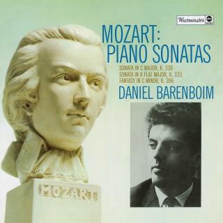 Mozart: Fantasie In C Minor, K.396; Piano Sonata No.10 In C Major, K.330; Piano Sonata No.13 In B Flat, K.333