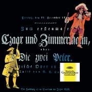 Lortzing: Zar und Zimmermann LoWV 38