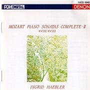 Mozart: Piano Sonatas Nos. 12 & 13