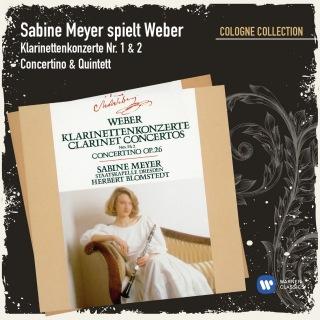 Sabine Meyer spielt Weber