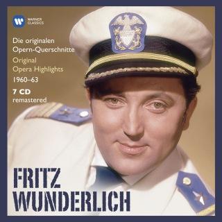 Fritz Wunderlich: Die Electrola-Querschnitte 1960-63
