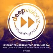 Fire (feat. April Morgan) [Sandy Rivera & Laroye's Fire Funk Mix]