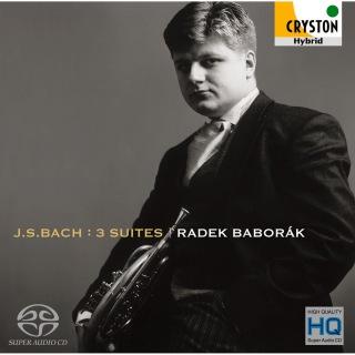 バッハ:組曲 第1〜3番<無伴奏チェロ組曲ホルン版>