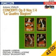 "Vivaldi: Concerti Op. 8 Nos. 1-4 ""Le Quattro Stagioni"""