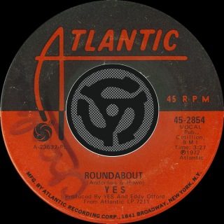 Roundabout [Single Edit] / Long Distance Runaround [Digital 45]